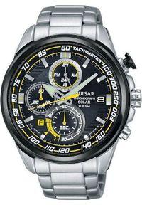 Zegarek Pulsar Zegarek Pulsar Solar męski chronograf PZ6003X1 uniwersalny