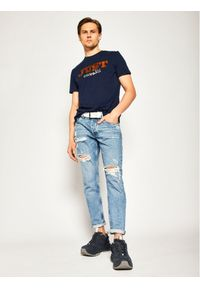 Niebieski t-shirt Just Cavalli