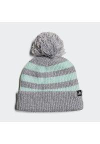 Miętowa czapka zimowa Adidas klasyczna #1