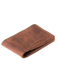 Brązowy portfel BRODRENE