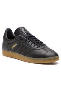 Czarne sneakersy Adidas Adidas Gazelle, z cholewką