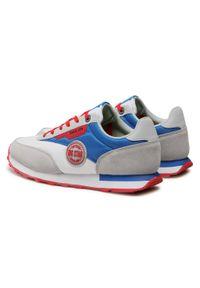 Big-Star - Sneakersy BIG STAR - HH174248 White/Royal Blue. Okazja: na co dzień. Kolor: biały. Materiał: skóra, skóra ekologiczna, materiał. Szerokość cholewki: normalna. Styl: klasyczny, sportowy, elegancki, casual