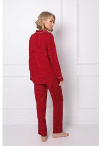 Aruelle - Piżama Michaela. Kolor: czerwony. Długość: długie