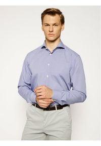 Niebieska koszula biznesowa Eton