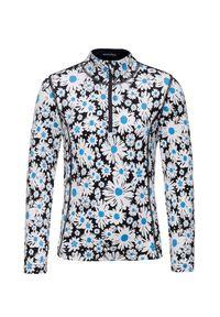 Bluza Poivre Blanc z nadrukiem, z golfem