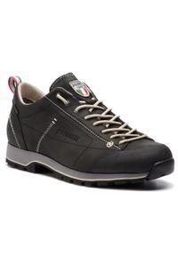 Czarne buty trekkingowe Dolomite trekkingowe, z cholewką, Gore-Tex