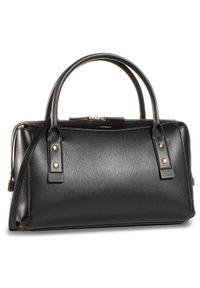 Czarna torebka klasyczna Marella z aplikacjami, zdobiona