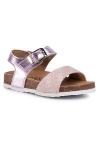 Różowe sandały Guess