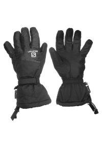 salomon - Rękawice Salomon Strike L39506000. Materiał: softshell, skóra, materiał, syntetyk. Technologia: Gore-Tex. Sezon: zima. Sport: narciarstwo