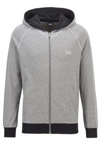 BOSS - Boss Bluza Mix&Match Jacket H 50381879 Szary Regular Fit. Kolor: szary