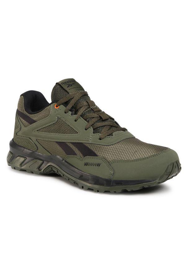 Zielone buty do biegania Reebok z cholewką