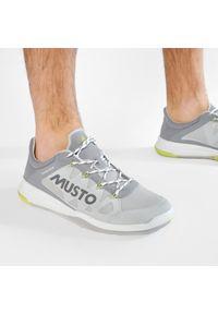 Musto - Buty MUSTO - Dynamic Pro II Adapt 82027 Platinum. Kolor: szary. Materiał: materiał. Szerokość cholewki: normalna #8