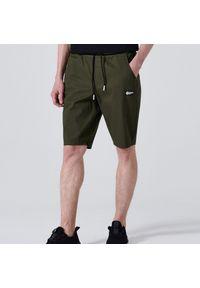 Cropp - Szorty jogger - Khaki. Kolor: brązowy