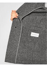Szary płaszcz przejściowy Baldessarini #6