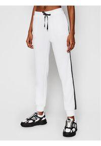 Białe spodnie dresowe Liu Jo Sport