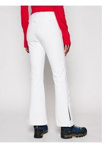 Białe spodnie sportowe Colmar narciarskie