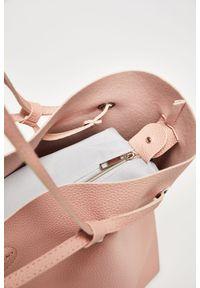 Różowa torebka MOODO