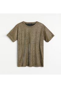 Złota bluzka Reserved
