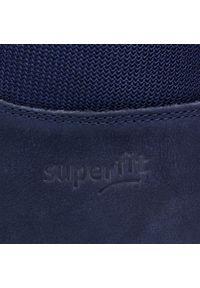 Niebieskie półbuty Superfit z cholewką
