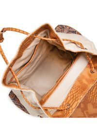 Desigual Plecak 21SAKA34 Beżowy. Kolor: beżowy