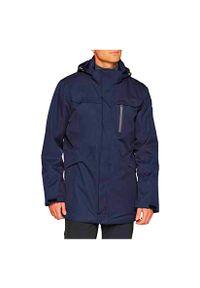 Kurtka męska ocieplona CMP Parka Zip Hood CMPKTZ0042. Kolor: niebieski. Materiał: materiał, syntetyk. Sezon: zima