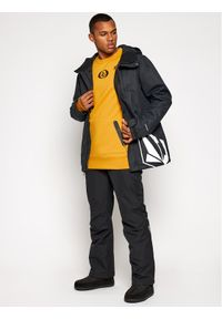 Volcom Bluza Let It Storm Crew G4652100 Żółty Regular Fit. Kolor: żółty