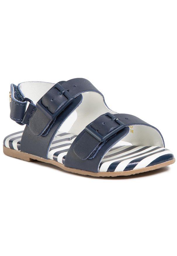 Niebieskie sandały Bibi