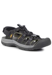 Czarne sandały trekkingowe keen