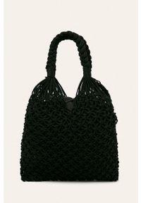 Czarna torba plażowa Nobo na ramię