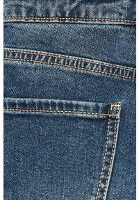 ANSWEAR - Answear - Jeansy. Stan: podwyższony. Kolor: niebieski