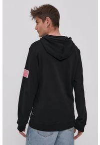 Only & Sons - Bluza bawełniana. Okazja: na co dzień. Kolor: czarny. Materiał: bawełna. Styl: casual