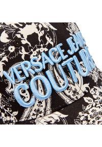 Czarna czapka z daszkiem Versace Jeans Couture