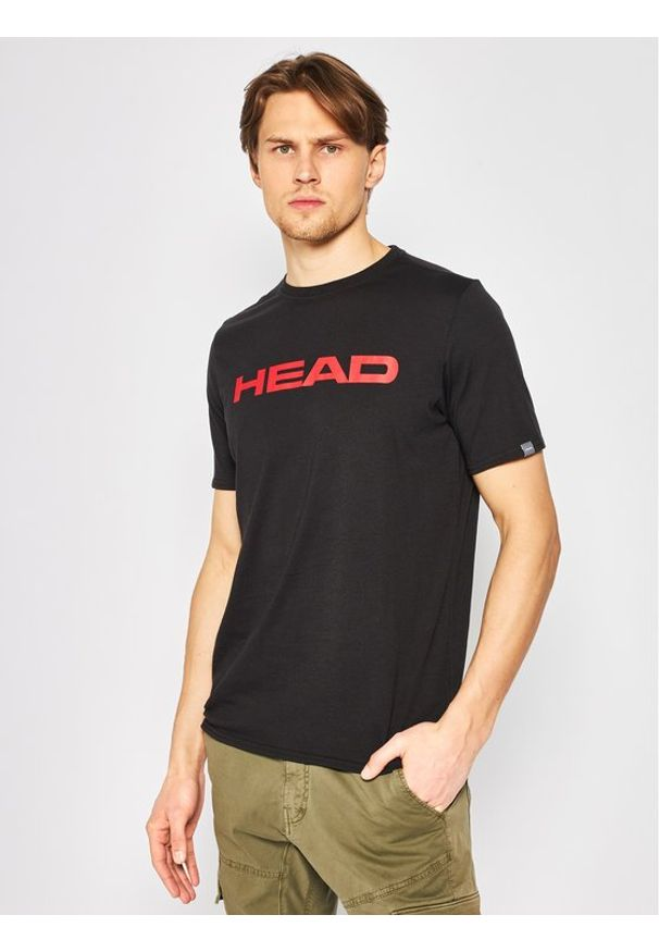 Czarny t-shirt Head
