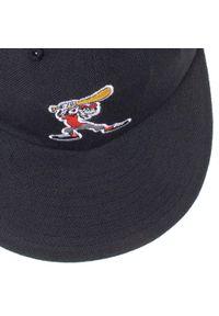 Czarna czapka z daszkiem Adidas