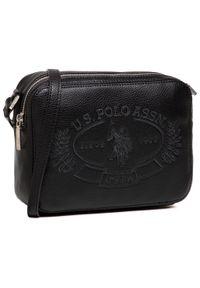 U.S. Polo Assn - Torebka U.S. POLO ASSN. - New Hailey Crossbody BEUHF5161WVP000 Black. Kolor: czarny. Materiał: skórzane. Styl: klasyczny