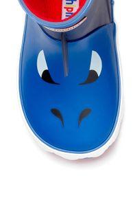 Niebieskie kalosze Chipmunks z cholewką