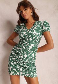 Renee - Zielona Sukienka Adedoc. Kolor: zielony