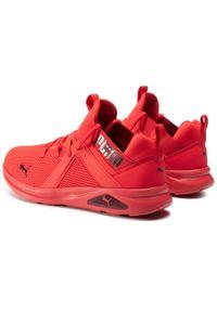 Czerwone buty do biegania Puma