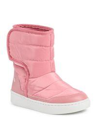 Różowe buty zimowe Bibi