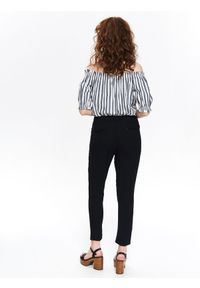 Czarne spodnie TOP SECRET casualowe, na co dzień