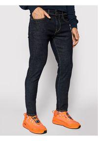 Pepe Jeans Jeansy Finsbury PM200338 Granatowy Skinny Fit. Kolor: niebieski
