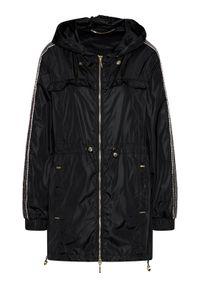 Czarna kurtka przejściowa Liu Jo Sport sportowa