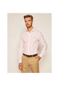 Różowa koszula Tommy Hilfiger Tailored