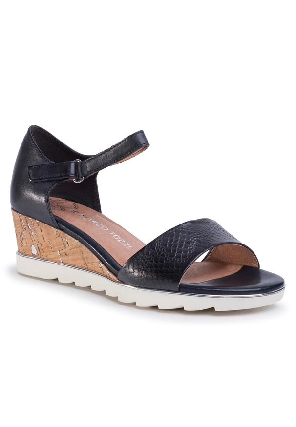 Niebieskie sandały Marco Tozzi