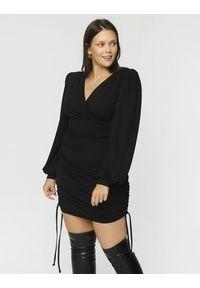 Madnezz - Sukienka Patrycja - czerń. Materiał: wiskoza, elastan