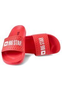 Big-Star - Klapki BIG STAR GG374801 Czerwony. Okazja: na co dzień. Kolor: czerwony. Materiał: materiał. Styl: wakacyjny, casual
