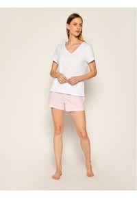 Lauren Ralph Lauren T-Shirt I811527 Biały Regular Fit. Kolor: biały