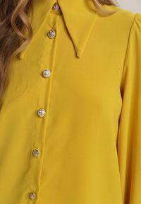 Renee - Żółta Koszula Thronixia. Kolor: żółty
