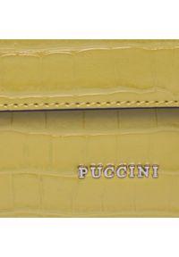 Zielona torebka klasyczna Puccini casualowa