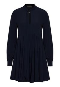 Niebieska sukienka Sportmax Code na co dzień, casualowa, prosta